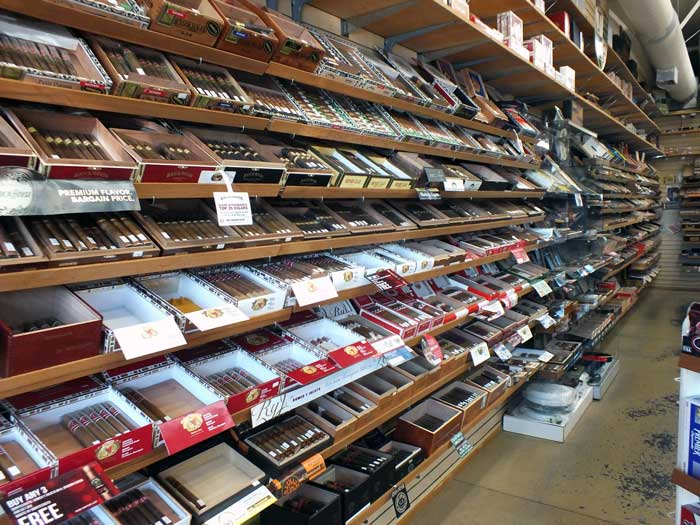 Inside Timber Valley Tobaccos