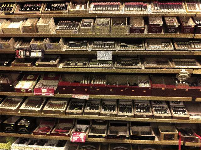 Huge display of cigars