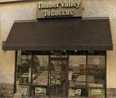 Timber Valley Tobaccos Store Front